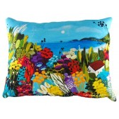 Natalie Rymer - The Sea House Cushion