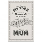 Thank You Mum Tea Towel