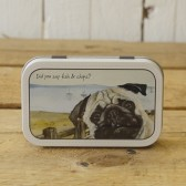 The Little Dog Fish & Chips Mint Tin