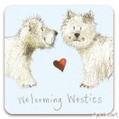 Welcoming Westies Magnet
