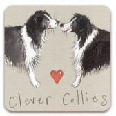 Clever Collies Magnet
