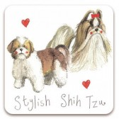 Alex Clark Stylish Shih Tzu Magnet