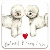 Alex Clark Beloved Bichon Frise Magnet