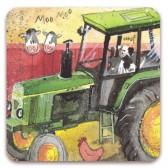 Alex Clark Green Tractor Magnet