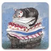 Alex Clark Laundry Basket Magnet