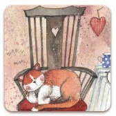 Alex Clark Cat Chair Magnet