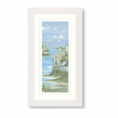 Harbour Town I Framed Print by Diane Demirci