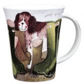 Alex Clark His Wellies Mug