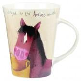 Alex Clark Horses Mouth Mug