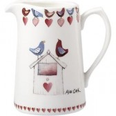 Alex Clark Love Birds 1.5 Pint Jug