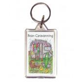Bean Caravanning Keyring