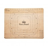 Wooden Pastry Board with Measures