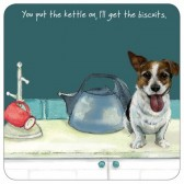 The Little Dog Kettle On Coaster