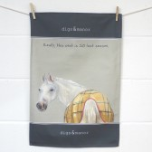 The Little Dog Last Season Tea Towel