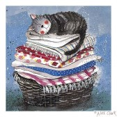 Alex Clark 'Laundry Basket' print