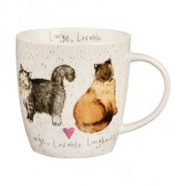 Large, Lovable Longhairs Mug