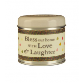Julie Dodsworth Love & Laughter Candle Tin