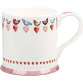 Alex Clark Love Birds Mellow Yellow Mug