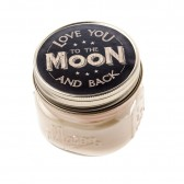Candle Jar - Love you to the moon and back