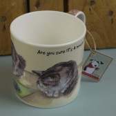The Little Dog Office Cats Plain Mug