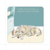 The Little Dog Old People Coaster