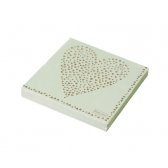 Heart Design Paper Napkins