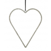 Parlane Paola Hanging Heart With Beads