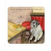 The Little Dog Pint Coaster