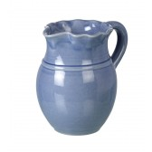 Miel Light Blue Ceramic Pitcher