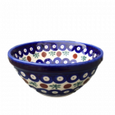 Cranberry Polish Pottery Cereal Bowl