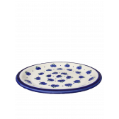 Blueberry Polish Pottery Dinner Plate