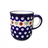 Cranberry Polish Pottery Mug
