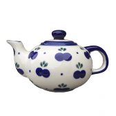 Blueberry Polish Pottery Small Teapot