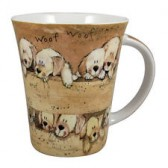 Alex Clark Puppies Mug
