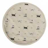 Purrfect Circular Hob Cover by Sophie Allport