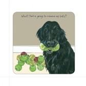 The Little Dog Remove Balls Coaster