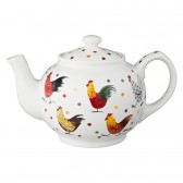 Alex Clark Rooster Fine China Teapot