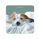 The Little Dog Scruffy Love Coaster
