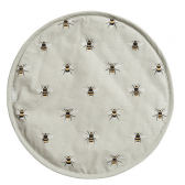 Bees Circular Hob Cover by Sophie Allport
