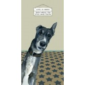 The Little Dog Smile Greeting Card