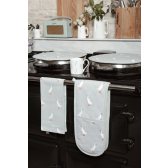 Runner Duck Oven Circular Hob Cover by Sophie Allport