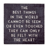 The Best Things Wooden Plaque