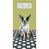 The Little Dog Treat Cupboard Greeting Card