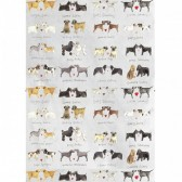 Alex Clark Delightful Dogs Tea Towel