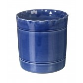 Miel Blue Ceramic Utensil Pot