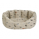 Small Woof Dog Bed by Sophie Allport