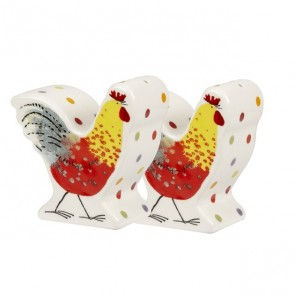 Rooster Salt & Pepper Pots