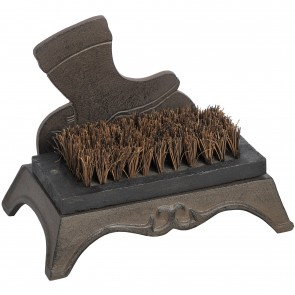 Old Boot Design Heavy Cast Iron Boot Scraper
