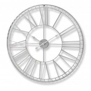 Large Nickel Wall Clock