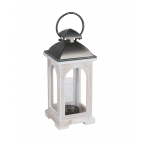 White Church Inspired Lantern
